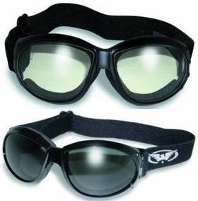 26d79f64fc 2 Eliminator Gafas De Moto Transparentes Y Ahumadas Más B