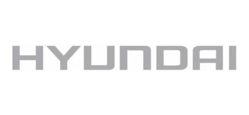 2 emblema adesivo do capo para o caminhão hyundai hr prata