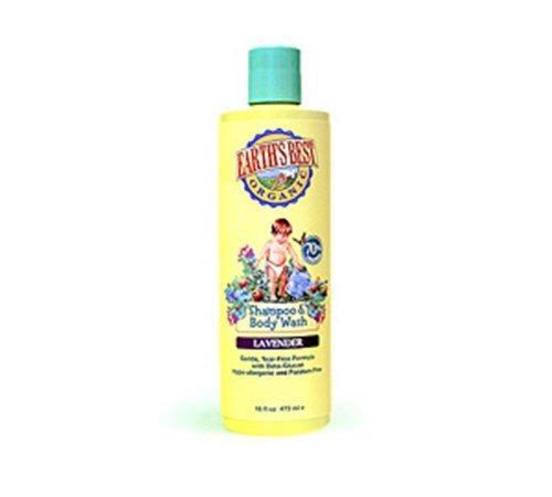 2 en 1 baby shampoo and body wash lavanda 16 onzas