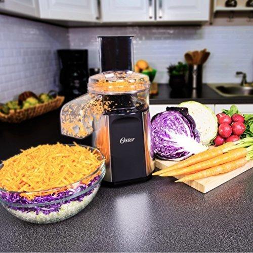 2-en-1 preparación de la ensalada y robot de cocina oster o