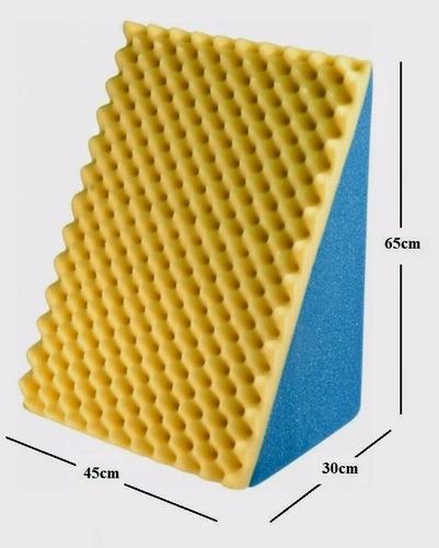 2 encosto triangular c/ capa - travess. amamentação leitura