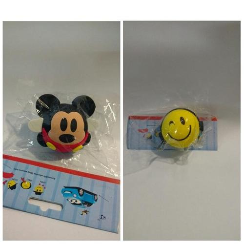 2 enfeites de antena mickey e smile