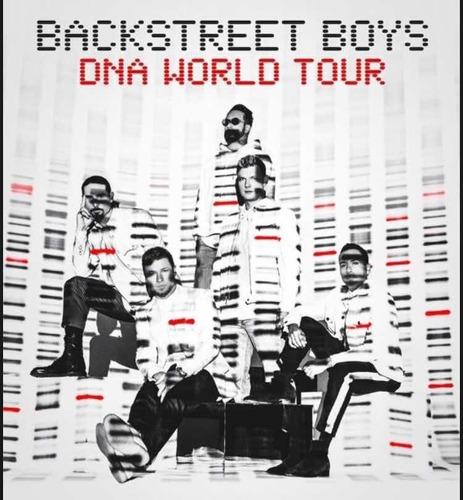2 entradas concierto backstreet boys tour dna día 4 de marzo