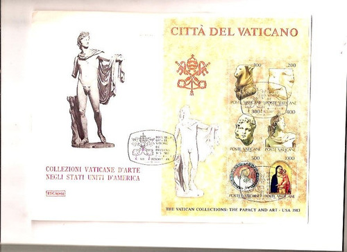 2 envelopes de vaticano com carimbos do comemorativos