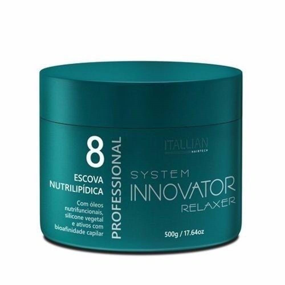 7a984f022 2 escovas nutrilipidica innovator 500g nº 8 + therapy balm. Carregando zoom.