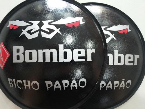 2- escudo protetor alto para falante bicho papão 160mm +cola