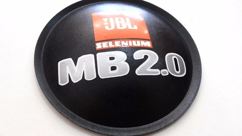 2- escudo protetor p/ fal. jbl selenium mb 2.0 135mm + cola