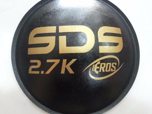 2 - escudo protetor para alto falante eros sds 2.7k 160mm