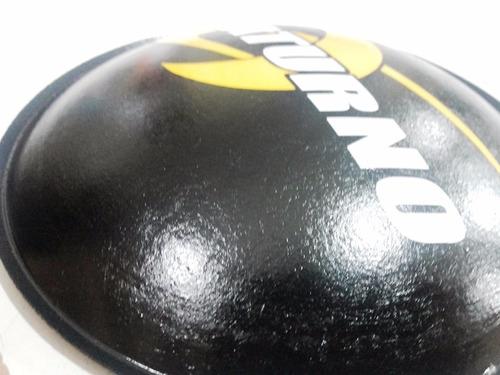2 - escudo protetor para alto falante saturno 160mm + cola