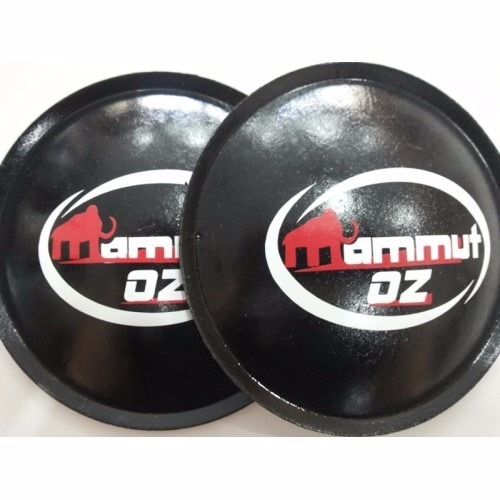 2 - escudo protetor para falante oz mammut 130mm + cola