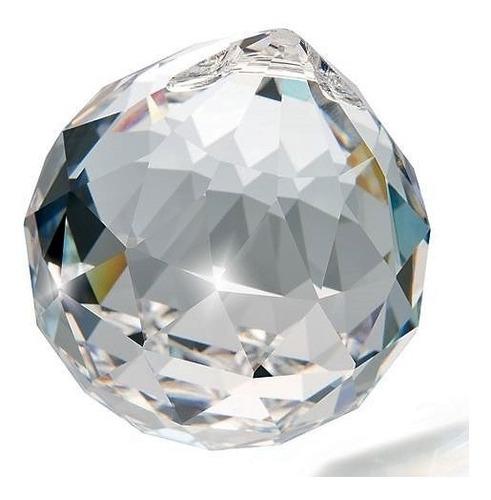 2 esferas bola de cristal k9 feng shui 50mm (5,0 cm)