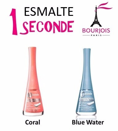 2 esmaltes 1 seconde gel bourjois - promoção!