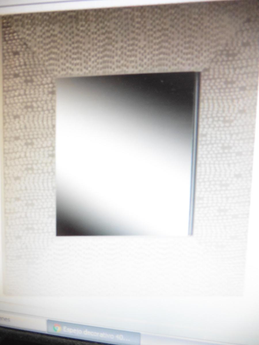 espejos bordes plateados poco uso perfecto estado