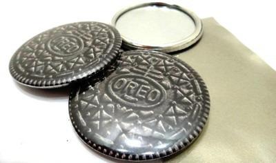 2 espejos oreo galleta prácticos la moda - cotillón - regalo