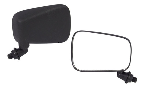 2 espelho retrovisor volkwagem fusca modelo original