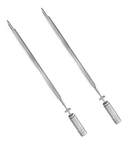 2 espetos espada ee 510 premium - 62 cm giragrill