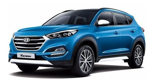 2 estribos de lujo hyundai tucson all new 2017 diseño ref 2
