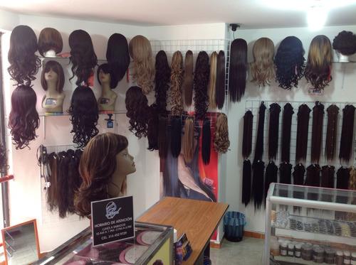 2 extensiones de cabello natural preciosas.locales bogota