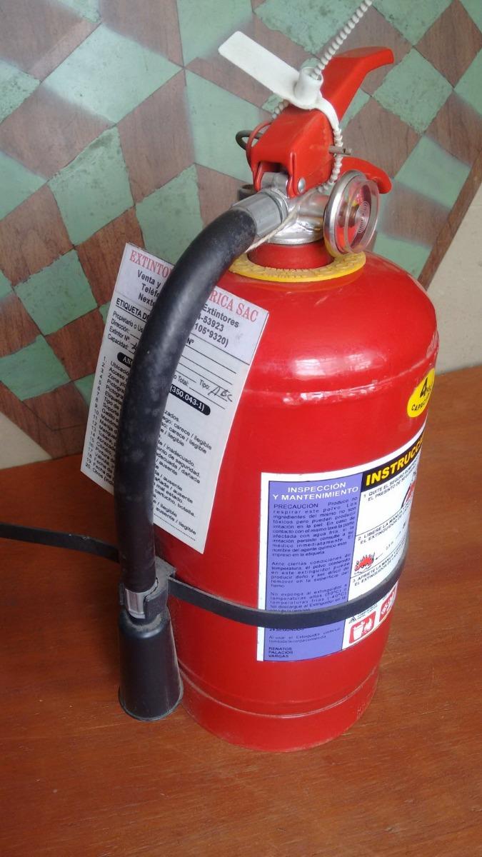 2 extintores 4 kg y 1 kg a recargar polvo abc p auto o casa s 50 00 en mercado libre - Extintor para casa ...