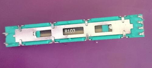 2 fader potenciometro mixer pioneer b103 djm 300-500-600 ori