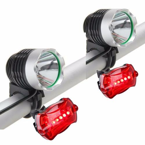 2 farol bike led t6 lanterna recarregável 2770000 lumens