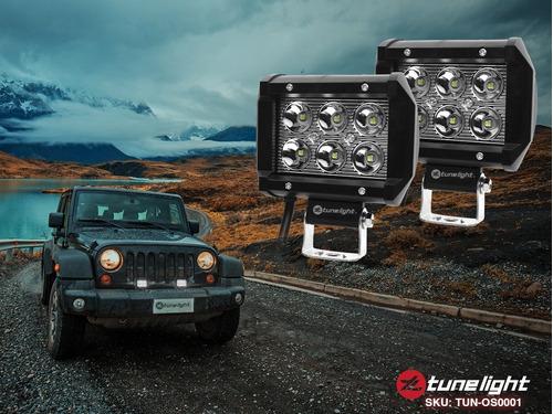 2 faros led alta intensidad tuneligth de pvc para jeep 4x4