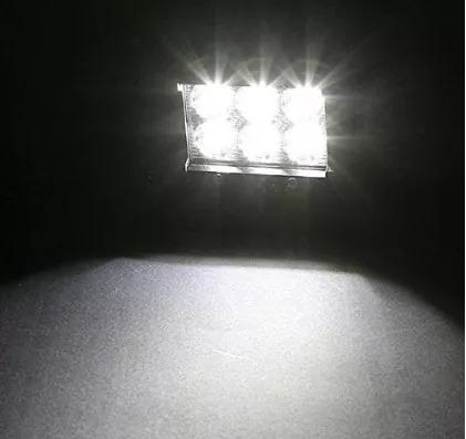 2 faros led cree + kit de instalacion carro camioneta tienda