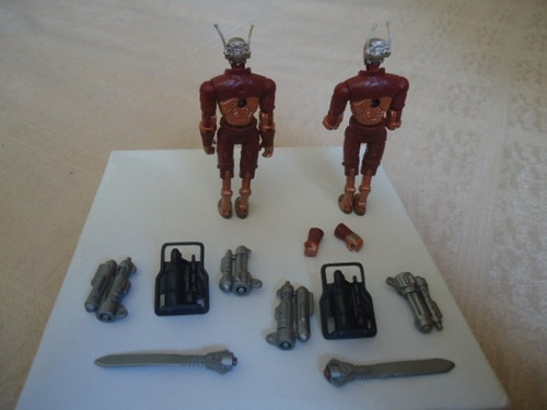 2 figures lot of gijoe cobra 2004 b.a.t v4 (v10)