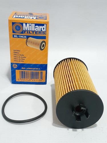 2 filtros aceite cruze (elemento) gm 93185674 tienda millard
