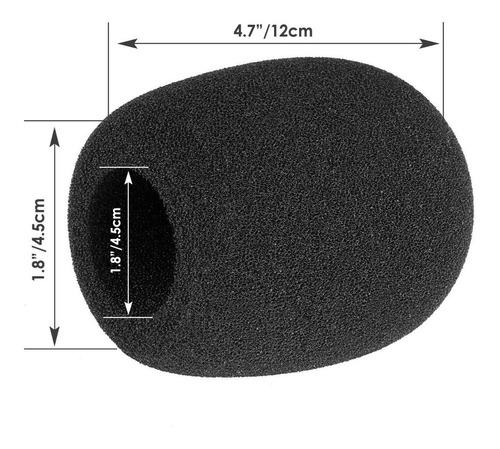 2 filtros anti pop, anti ruidos para micrófonos vocales