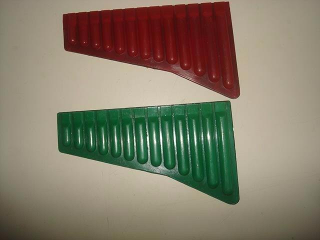 2 flauta de pan em plastico duro antigas r 30 00 as for Piscina plastico duro