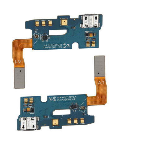 2 flex usb puerto cargador mic rev 0.7 para samsung galaxy