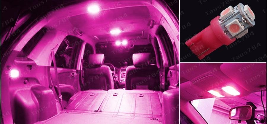 2 focos led pellizco autos motos de 5 led interiores luz for Focos led interior