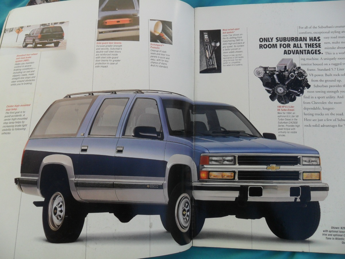 manual suburban 1994