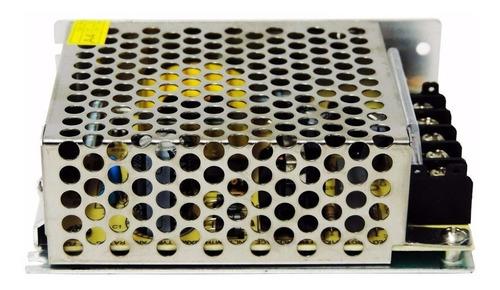 2 fonte chaveada 5a 12v p/ cftv fita de led