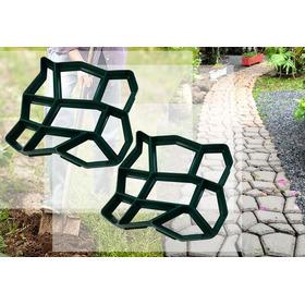 2 Formas Easy Piso Concreto Artesanato Molde Caminho Pedras