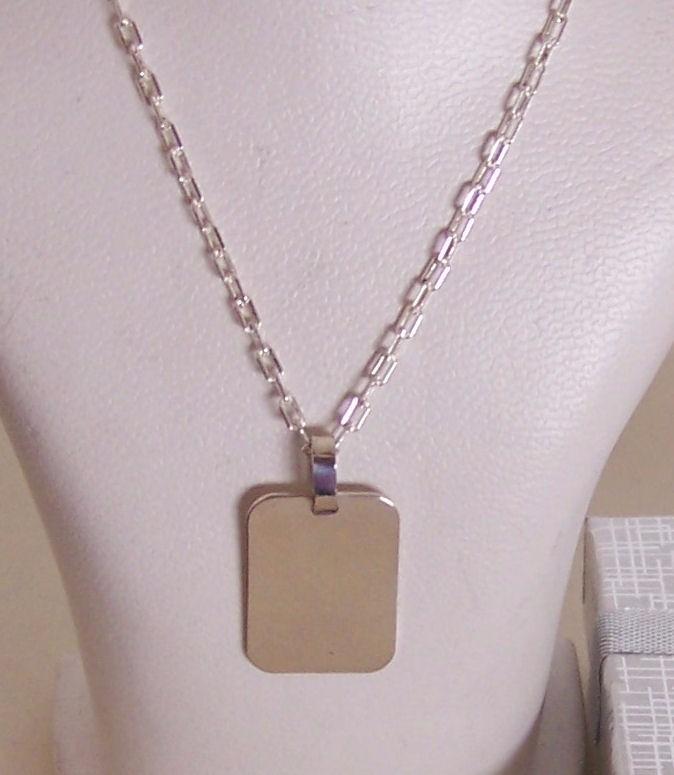 cc4ffa802987 2 Foto Medallas Plata 925 Personal 15x 19mm Cadena Hombre -   3.200 ...
