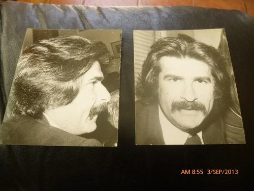 2 fotos de bigote arrocet 1970 (119f1