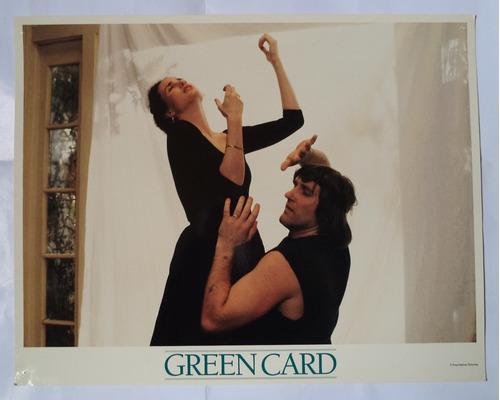 2 fotos lobby card green card
