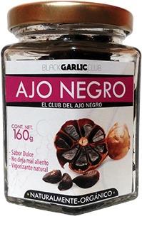 2 frascos de ajo negro de 160 gr. ajoblack original