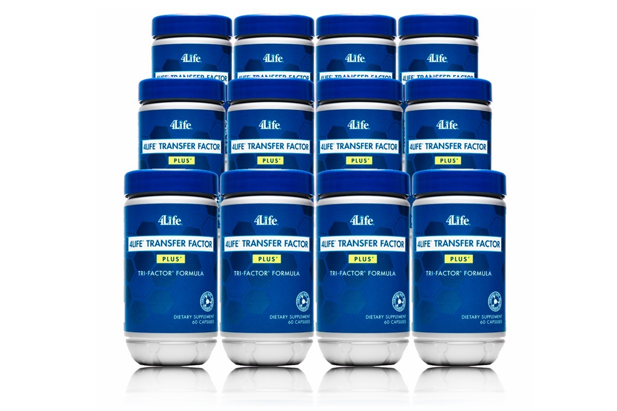 4life Transfer Factor Plus Tri Formula 2 Advance Trifactor Frascos De Da Carregando Zoom