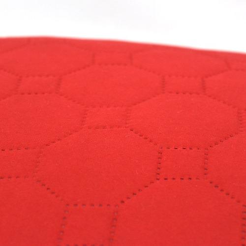 2 fundas de almohada novo rojo gris envió gratis