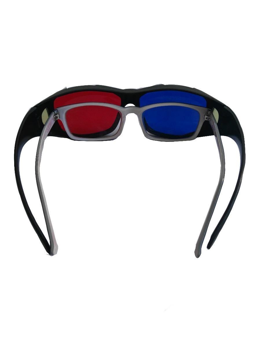 9ebfe83974 2 gafas 3d anaglífica, ideal poner sobre gafas graduadas. Cargando zoom.