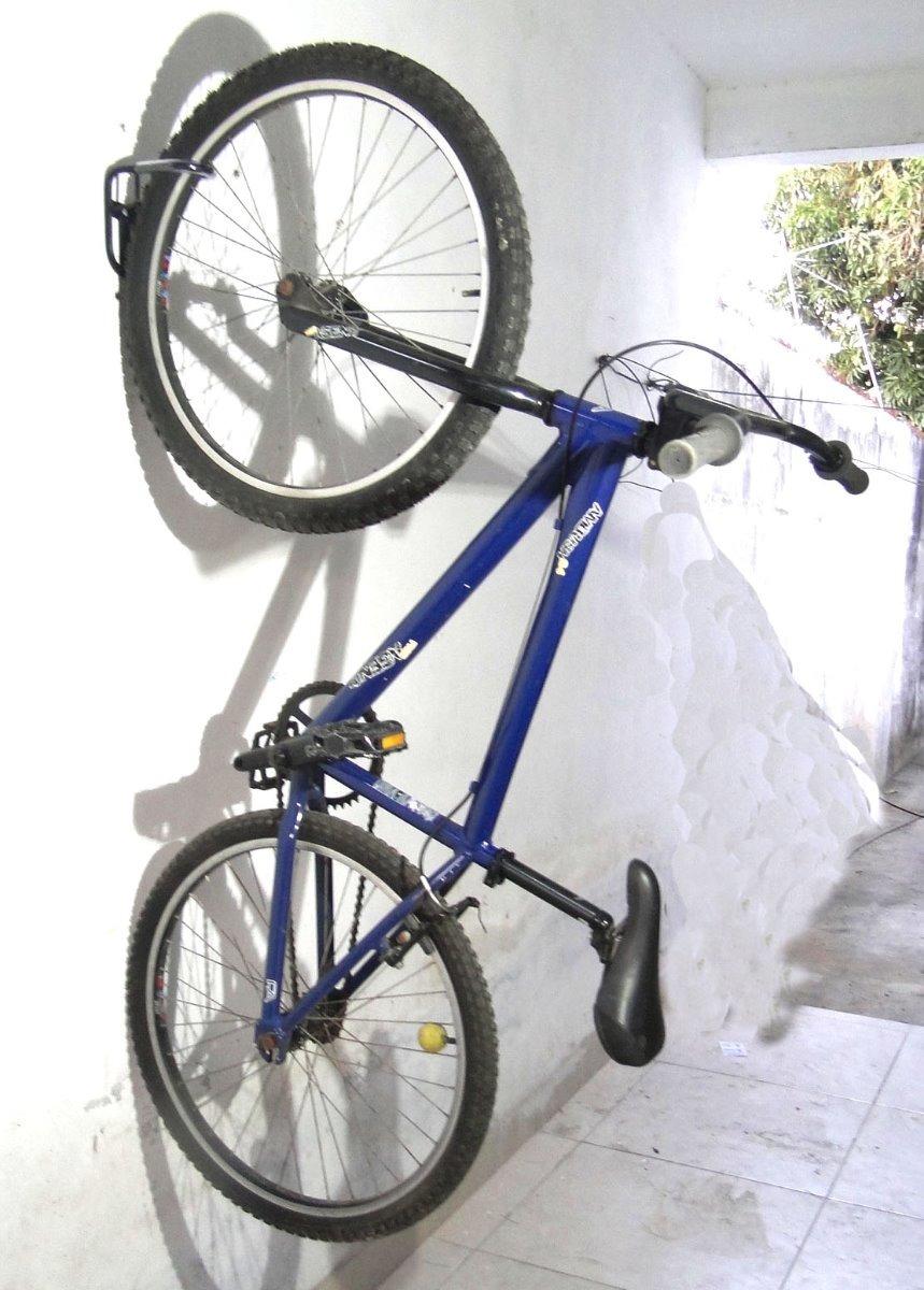 b18127a38 2 ganchos ou suporte bicicleta para pendurar bike parede b5. Carregando  zoom.