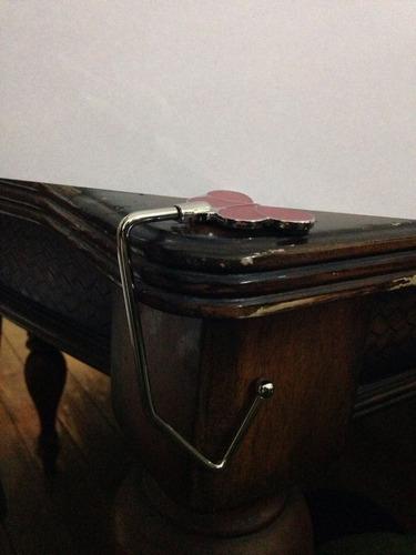 2 ganchos, soportes bolso para mesa, café, barra, protejete