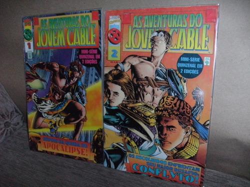 2 gibis as aventuras jovem cable hqs completa em 2 ediç fj
