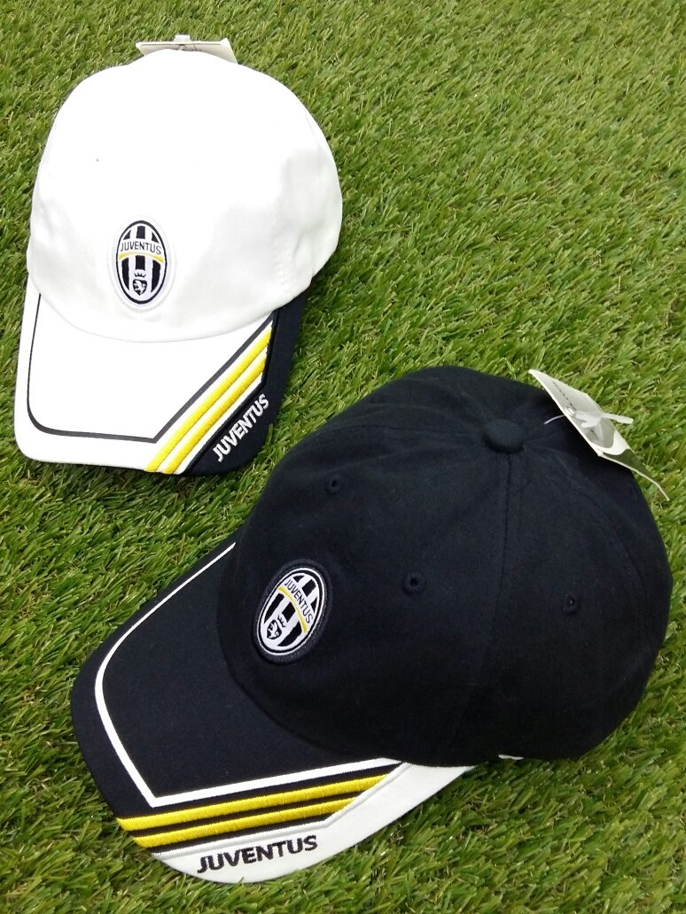 2 gorras juventus de turín original oficial blanca y negra. Cargando zoom. bc04cd284e0