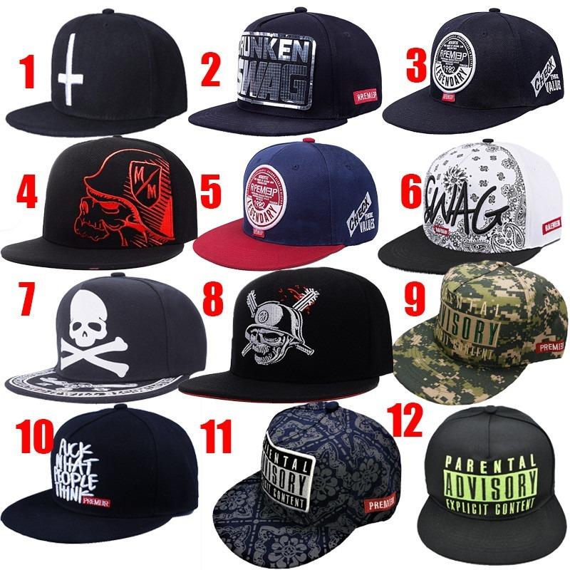 09442a5364306 2 gorras plana-unitalla-snapback-skate-rap-metal-hip hop. Cargando zoom.