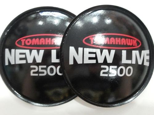 2 - guarda pó protetor  alto falante tomahawk new live 160mm