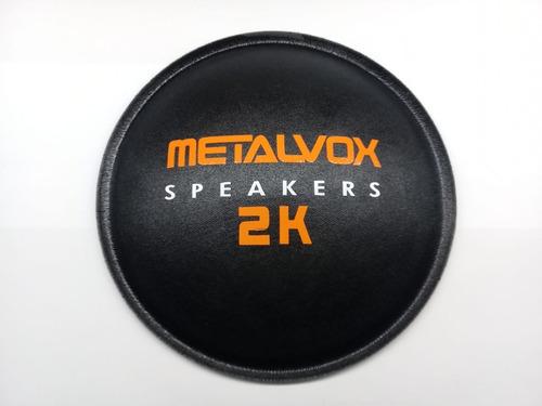 2 - guarda pó protetor para alto falante metalvox 2k 160mm